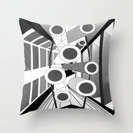 The Commons Throw Pillow