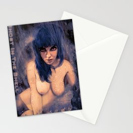 Motoko (Ghost in the Shell) Stationery Cards