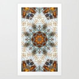 Sagrada Familia - Mandala Arch 1 Art Print