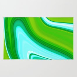 Abstract Fluid 13 Rug