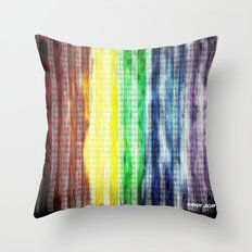 Pride Colours Throw Pillow