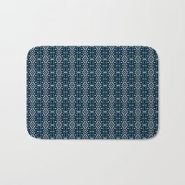 Meshed in Teal Bath Mat