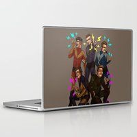 kendrawcandraw Laptop & iPad Skins featuring Superlads by kendrawcandraw
