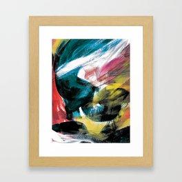 Abstract Artwork Colourful #3 Framed Art Print