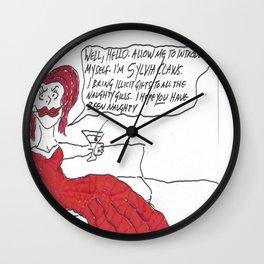 Sylvia Claws Wall Clock