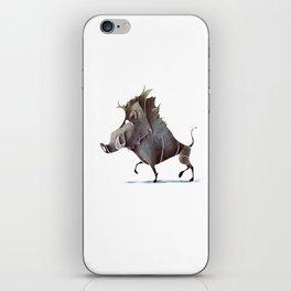 warthog iPhone Skin