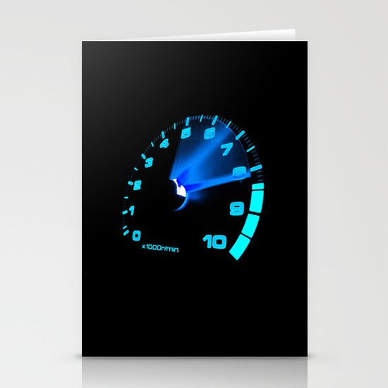 REV COUNTER Stationery Cards
