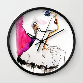 Pink fashion Wall Clock