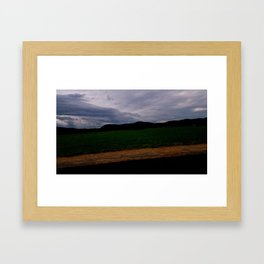 Seven Sisters by the Farm Framed Art Print