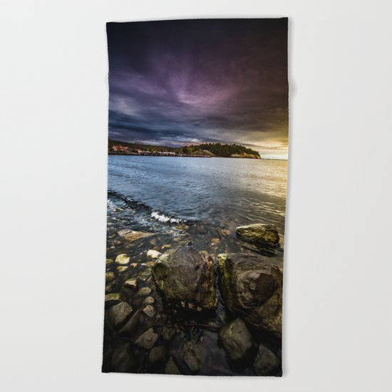 Time to head home Beach Towel