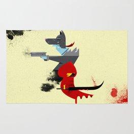 Red Hood & The Badass Wolf Redux Rug