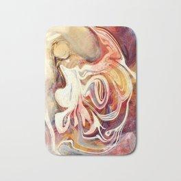 Wild Abstract Angel Bath Mat