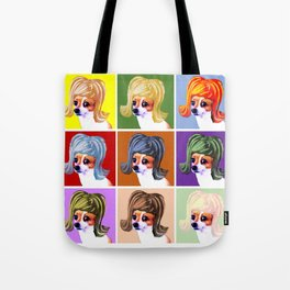 POP Art Graphic Tote Bag
