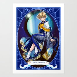 sailor uranus Art Print