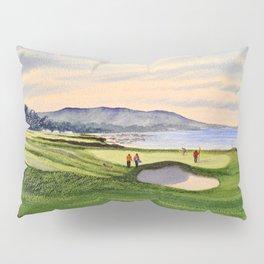 Pebble Beach Golf Course 9th Green Pillow Sham