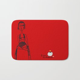 Red Africa Bath Mat