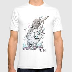 Halcyon MEDIUM White Mens Fitted Tee