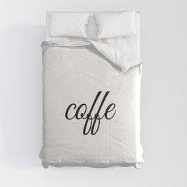 Coffee, coffee lover gift, coffee gifts Comforters