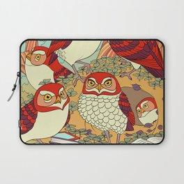 Burrowing Owl Family Laptop Sleeve