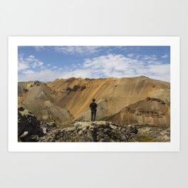 ICELAND IV Art Print