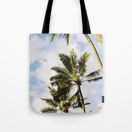 Palm tree in Cairns Tote Bag