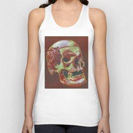 Stencil Skull 1 Unisex Tank Top