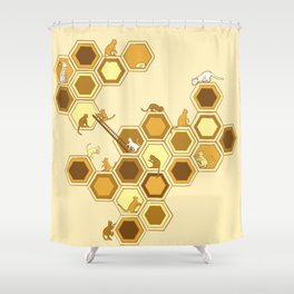 Queen of the Catacombs Shower Curtain