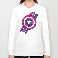 agents of shield Long Sleeve T-shirts featuring Shield by Shop 5