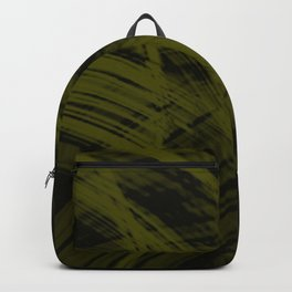 Falling fading fibers of bright lines with solar energy of futuristic abstraction.  Backpack