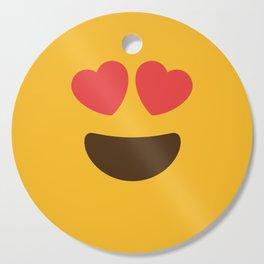 Love Face Cutting Board