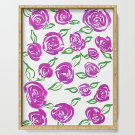 Roses Serving Tray