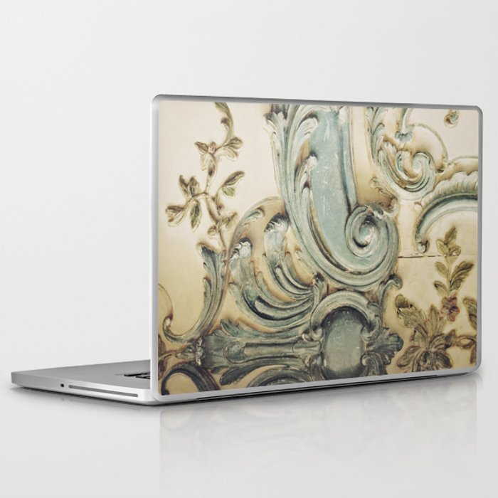 Blue Lace of Versailles Laptop & iPad Skin