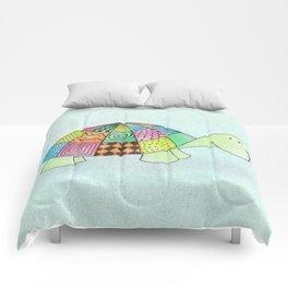 Little Claire's Turtle Comforters