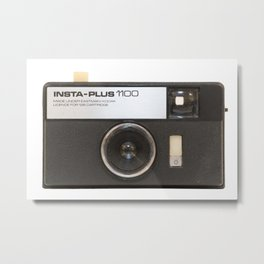 Instamatic Camera Metal Print