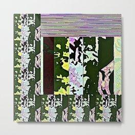 Rose Collage 168 Metal Print