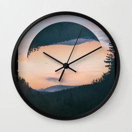Nostalgia Summer Night Wall Clock