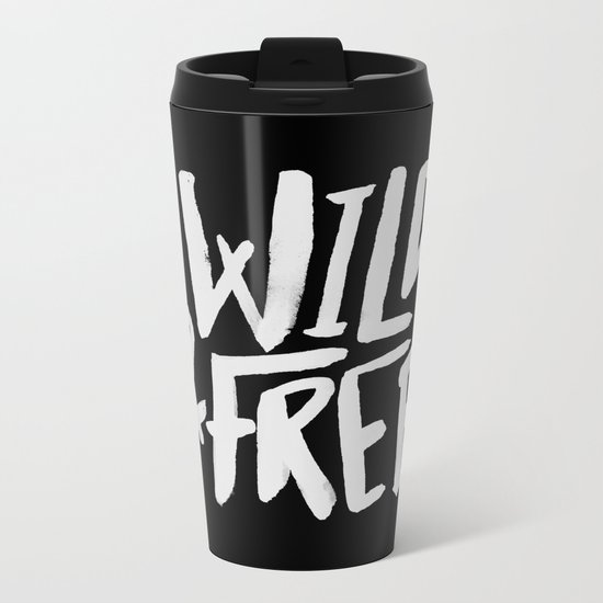 Wild and Free II Metal Travel Mug