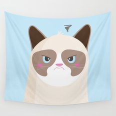 Grumpy Cat Wall Tapestry