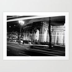 I Wish I May [Black & White] Art Print