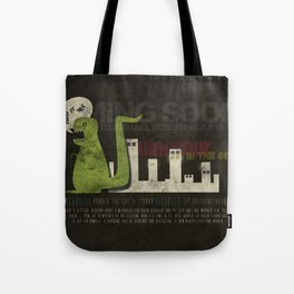 Dinosaur in the City Tote Bag