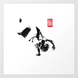 Capoeira 448 Art Print