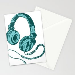 Headphone Headset Music Gaming Song Song Gift Stationery Cards