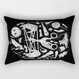 Lullaby in Frogland Rectangular Pillow
