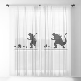 Animals of the World Sheer Curtain