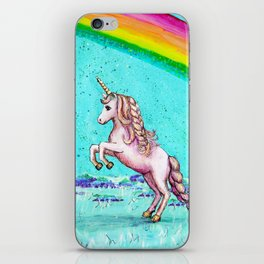 Rainbow's End: Elise Finds Her Courage iPhone Skin