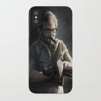 marc johns iPhone & iPod Cases featuring Marc Maron by Pavel Sokov