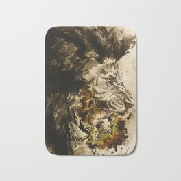 Lion's Den Bath Mat