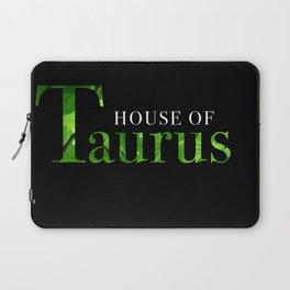 House of Taurus logo Laptop Sleeve