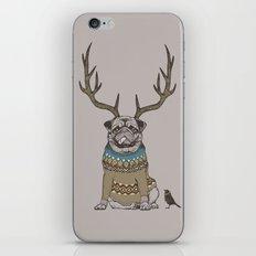 Deer Pug iPhone & iPod Skin