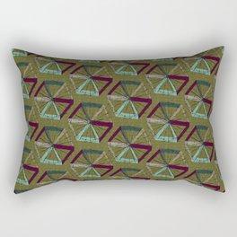 Abstract Umbrella Rectangular Pillow